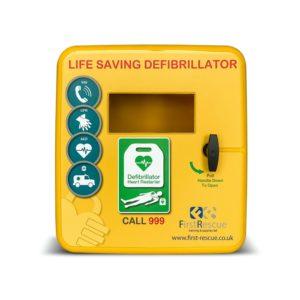 defibstore 4000 outdoor defibrillator cabinet non locking closed